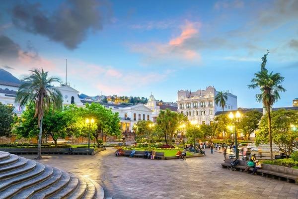Plaza Grande - Quito, Ecuador