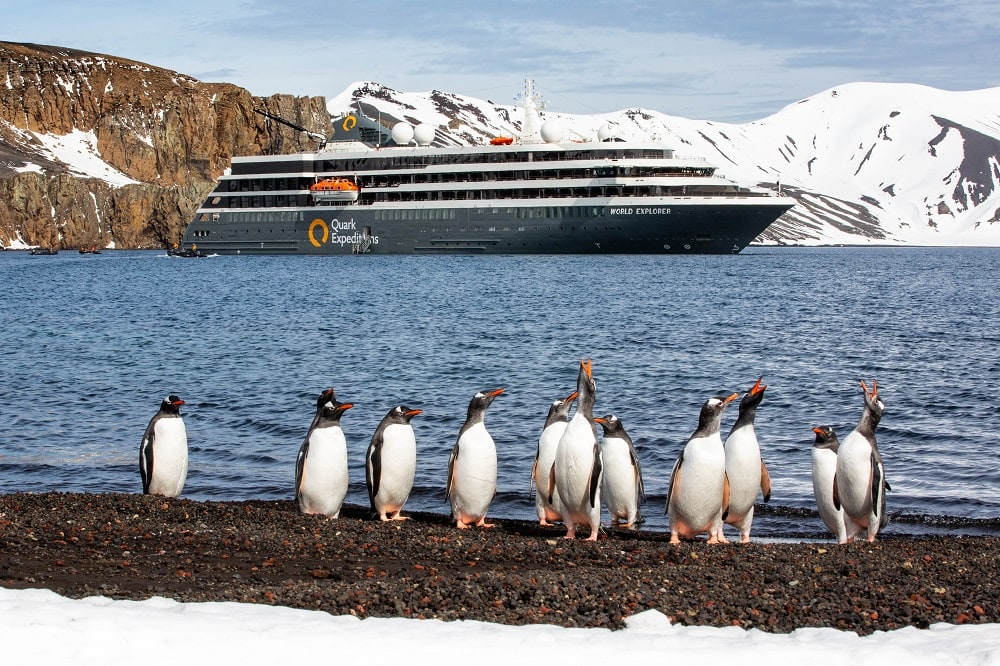 Quark World Explorer cruise in Antarctica