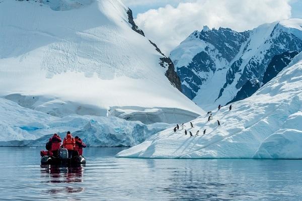 Zodiac Excursion Antarctica